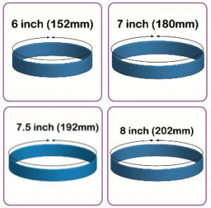 custom bracelet sizing